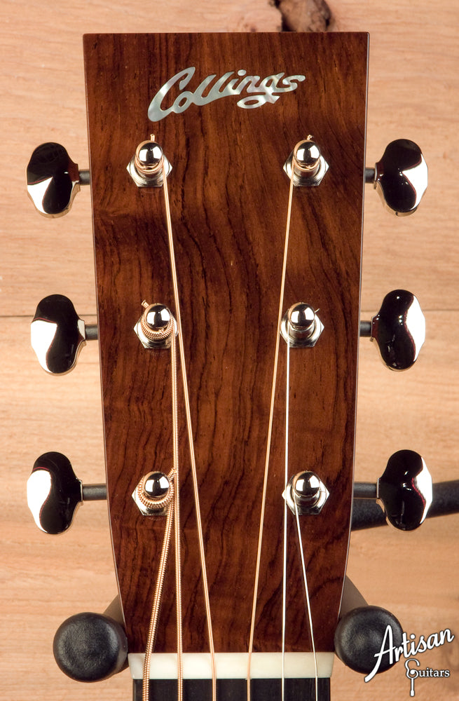 Collings D2HG Custom - German Spruce - Adirondack Bracing -  No Tongue Brace ID-5096 - Artisan Guitars