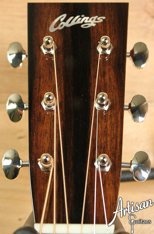 Collings D2HG German and Indian Rosewood with Adirondack Braces and No Tongue Brace ID-6902