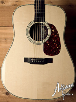 Collings D2HG German Spruce and Indian Rosewood Adirondack Bracing No Tongue Brace ID-5656 - Artisan Guitars