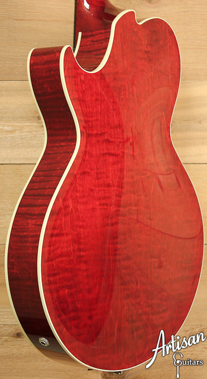 Collings Eastside LC Maple Dark Cherry Sunburst ID-6923