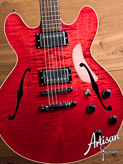 Collings I-35 Faded Cherry Maple Top and Lollar Humbuckers ID-5475 - Artisan Guitars