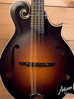 Collings MF Satin Finish F-Style Mandolin with Ivoroid Binding ID-5254 - Artisan Guitars