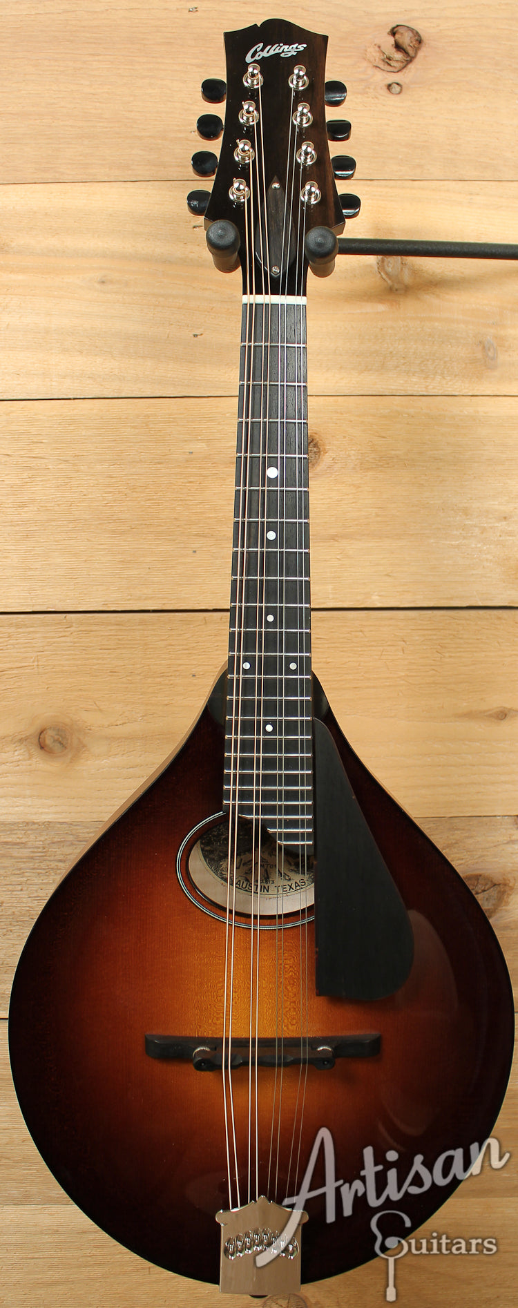 Collings MT O Oval Hole Mandolin Sunburst Gloss Top with Flame Maple Back and Sides ID-7287 - Artisan Guitars