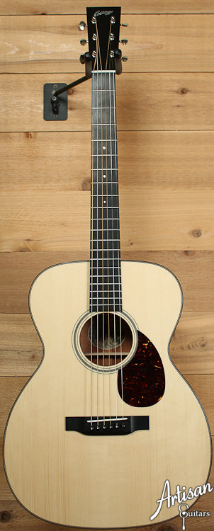 Pre Owned 2013 Collings OM1A Adirondack Spruce and Mahogany with Vintage Now Neck ID-6904 - Artisan Guitars