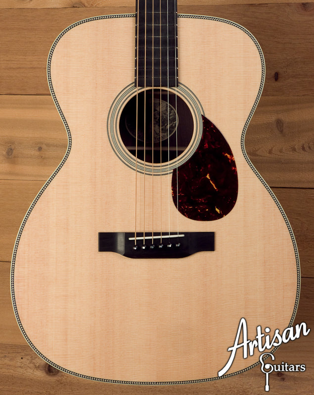 Collings OM2H-DD Sitka Spruce and Indian Rosewood with Deep Body ID-5664 - Artisan Guitars