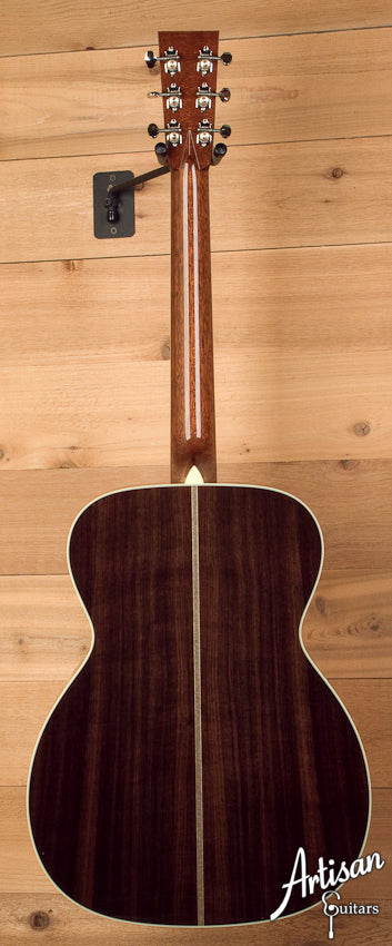 Collings OM2HA Custom Adirondack Spruce and Indian Rosewood with Adirondack Bracing and Deep Body ID-5460