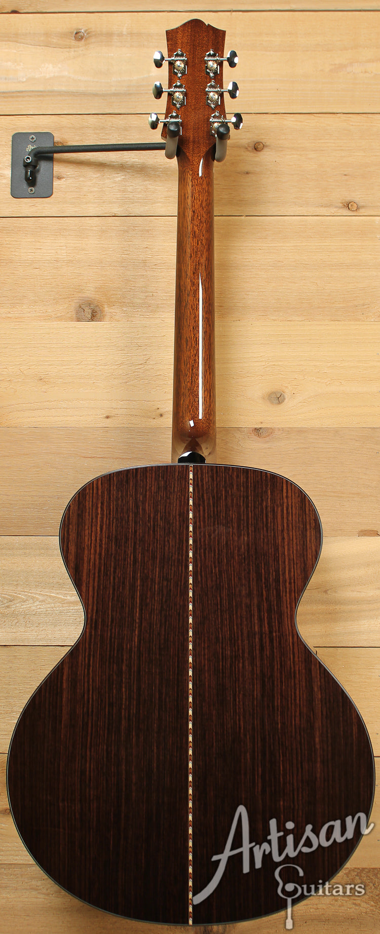 Collings SJ Custom German Spruce and Indian Rosewood Short Scale Sunburst ID-7319 - Artisan Guitars