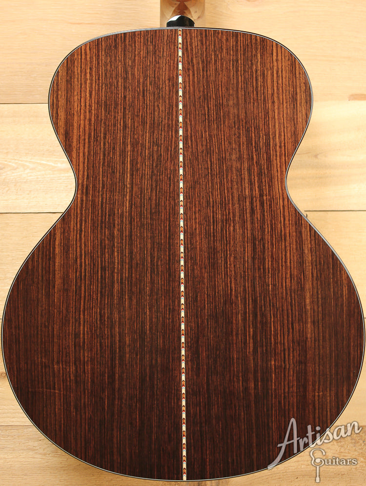 Collings SJ Custom German Spruce and Indian Rosewood Short Scale Sunburst ID-7319