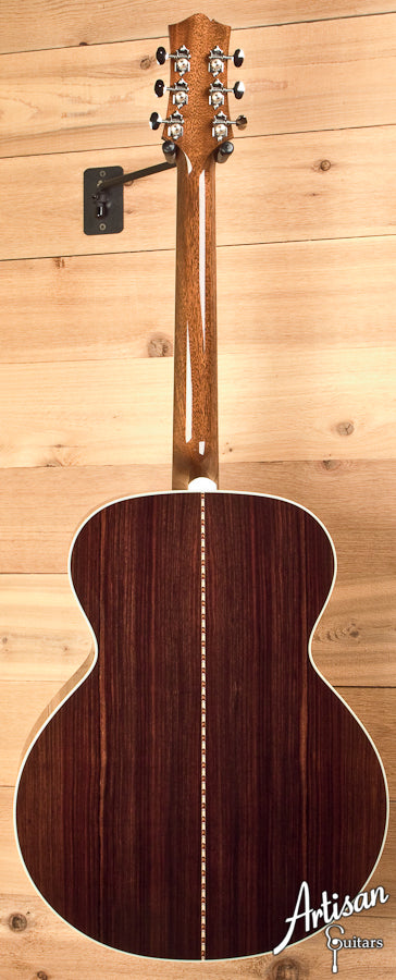 Collings SJ Sitka Spruce and Indian Rosewood with Sunburst Finish and Tigerstripe Pickguard ID-5594 - Artisan Guitars