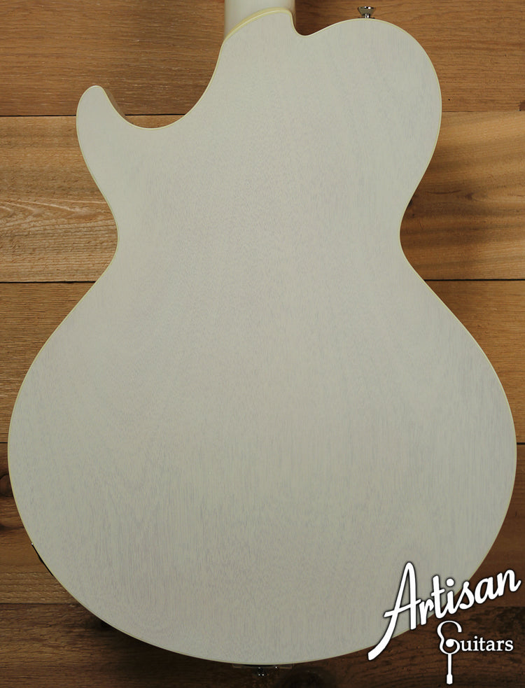 Collings SoCo Deluxe Custom Vintage White with Bigbsy Tremolo ID-7171 - Artisan Guitars