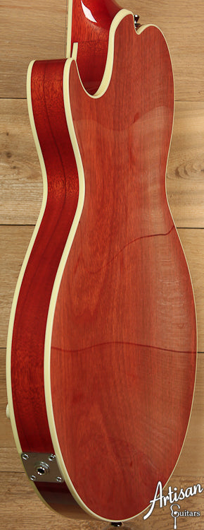 Pre Owned 2013 Collings SoCo Deluxe Faded Cherry with Imperial Standard Pickups ID-6966 - Artisan Guitars