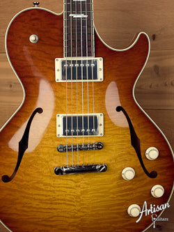 Collings SoCo Deluxe - Iced Tea Sunburst - Jason Lollar Pickups ID-5115 - Artisan Guitars
