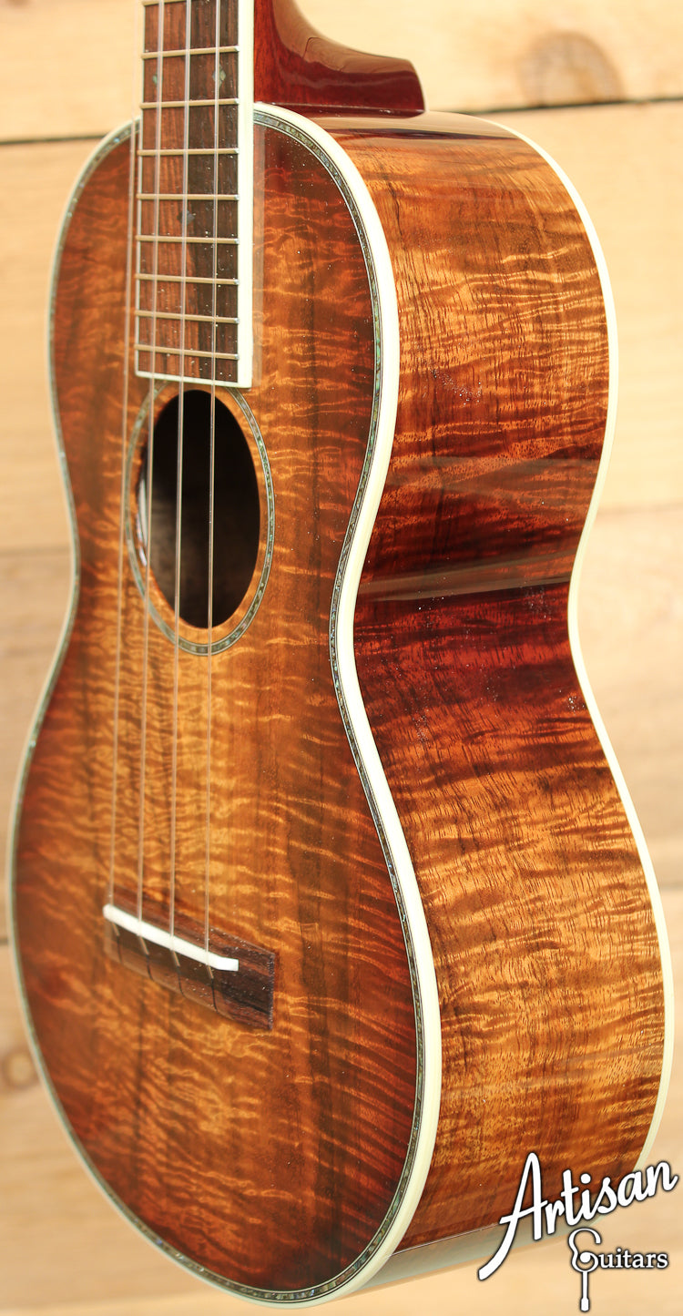 Collings UC3 K Koa Sunburst with 41 Style Inlays ID-7093