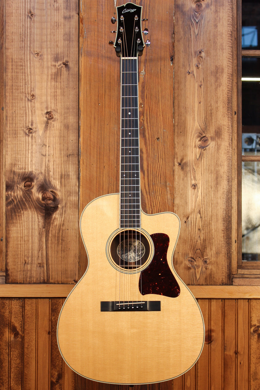 Collings C10 Deluxe Short Scale w/ Sitka Spruce & Indian Rosewood w/ Cutaway Pre-Owned 2013