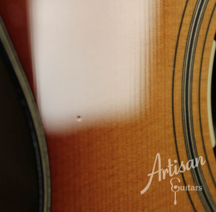 Pre Owned 2010 Collings 01SB Sitka and Mahogany, Sunburst and LR Baggs Anthem SL Pickup ID-8711 - Artisan Guitars