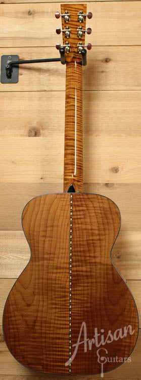 Collings 03 Maple A with Torrefied Adirondack and Flame Maple ID-8142 - Artisan Guitars