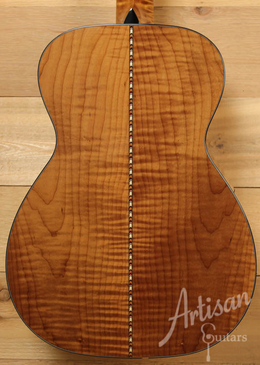 Collings 03 Maple A with Torrefied Adirondack and Flame Maple ID-8142
