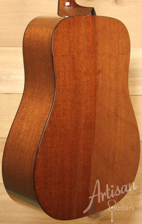 Collings D1A Adirondack and Mahogany with Cutthrough Saddle ID-8757