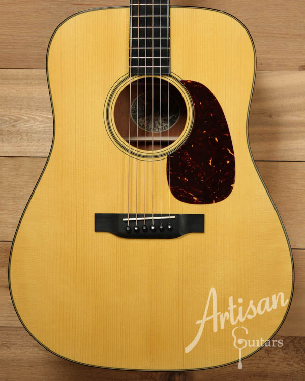 Pre Owned 2010 Collings D1A Varnish Adirondack and Mahogany  ID-8630 - Artisan Guitars