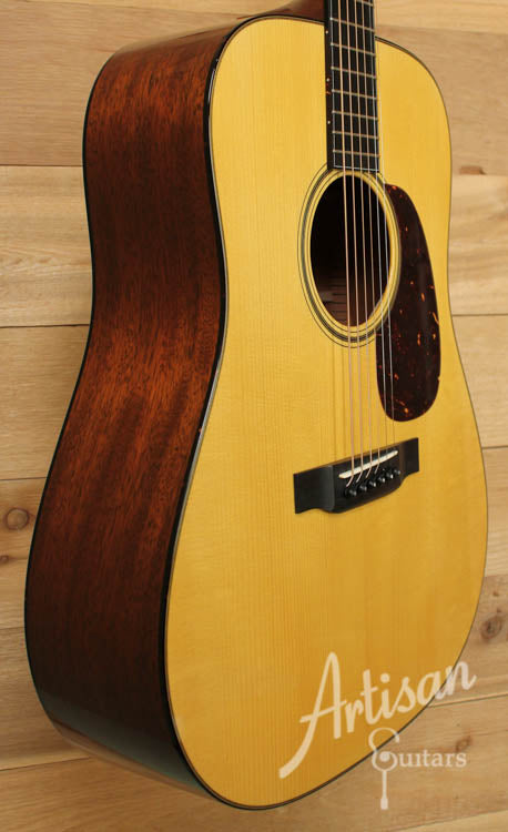 Pre Owned 2010 Collings D1A Varnish Adirondack and Mahogany  ID-8630