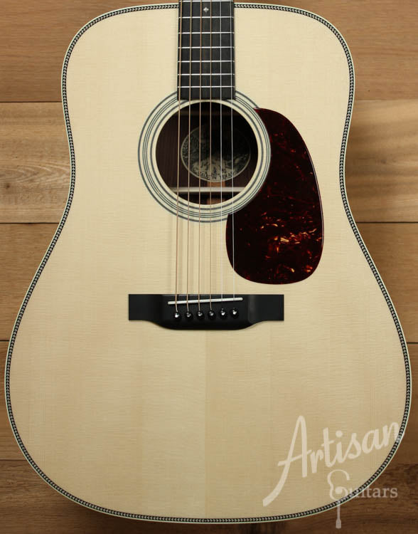 Collings D2HG German and Indian Rosewood with Adirondack Braces and No Tongue Brace ID-8766