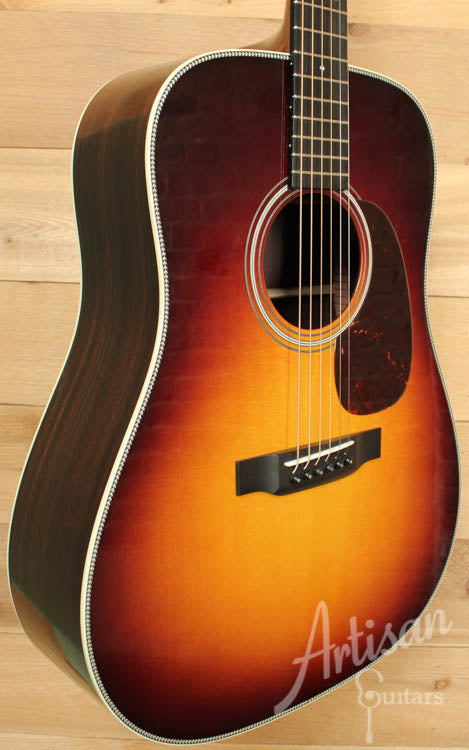 Collings D2H SB Sitka Spruce and Indian Rosewood with Dark Sunburst Top ID-7471 - Artisan Guitars