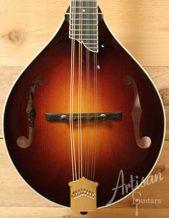 Pre-Owned 2014 Collings MT2 Mandolin Adirondack and Figured Maple with Sunburst Finish ID-8895 - Artisan Guitars