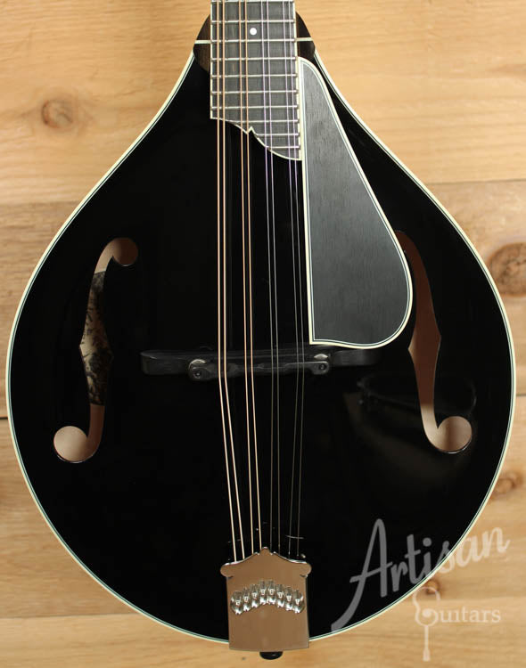Collings MT2 Mandolin Custom Black Top with Sunburst Back and Sides ID-8885