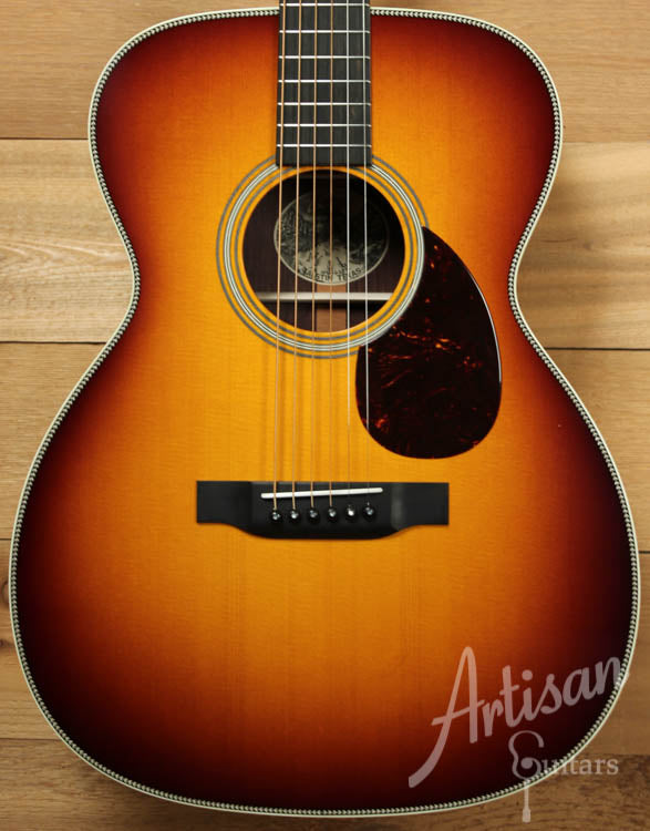 Collings OM2H G German Spruce and Indian Rosewood with Sunburst ID-8796 - Artisan Guitars