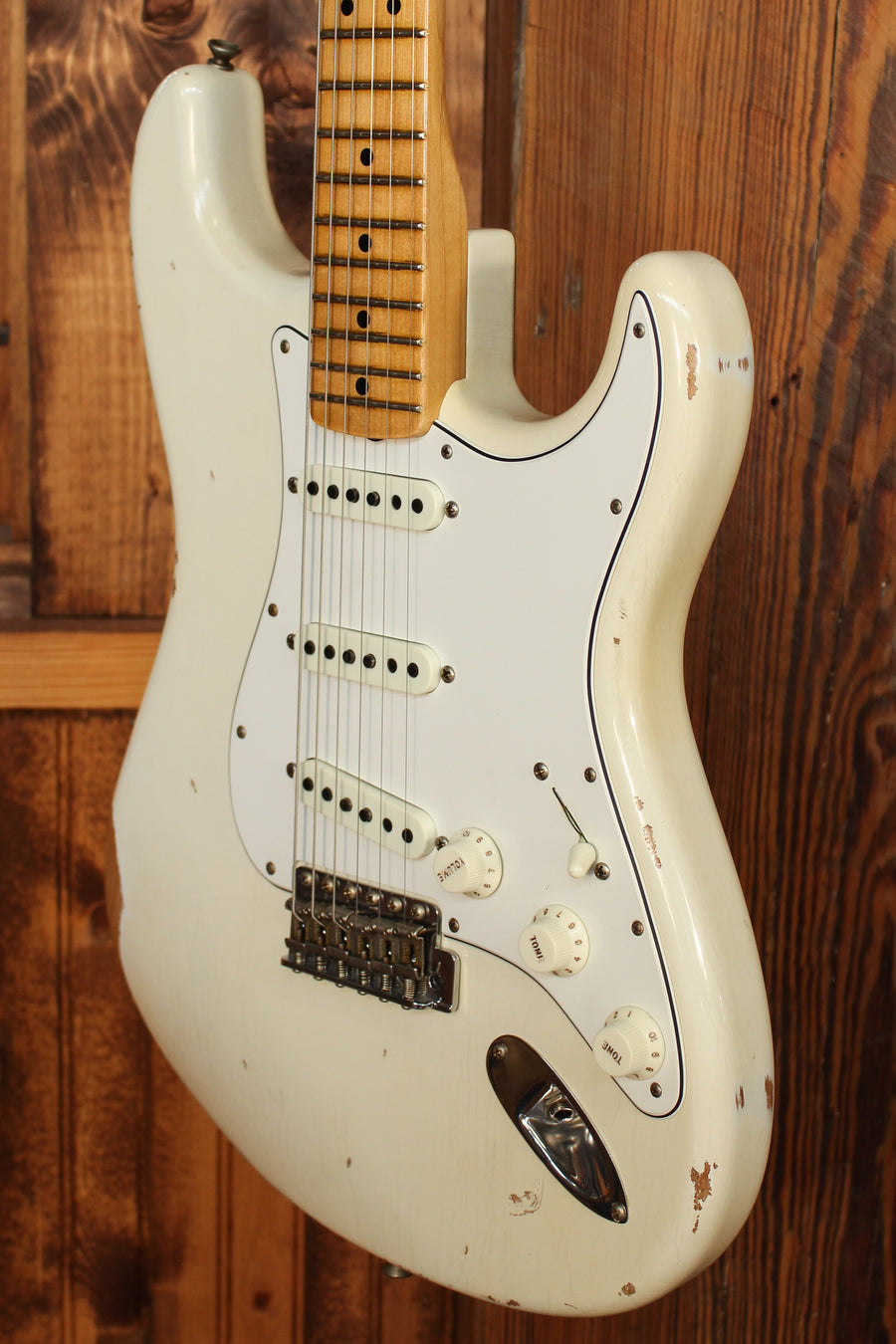 Fender Custom Shop Limited Edition '68 Strat, Relic w/ Aged Olympic White Finish