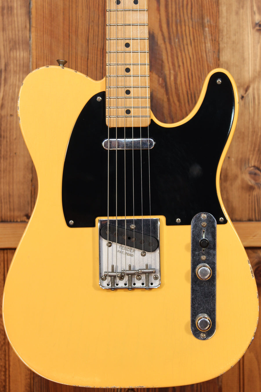 Fender Roadworn 50's Telecaster w/ Aged Butterscotch Finish Pre-Owned 2017