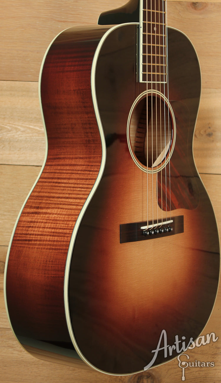 Huss and Dalton Crossroads Deluxe Sitka Spruce and Curly Maple ID-7126 - Artisan Guitars