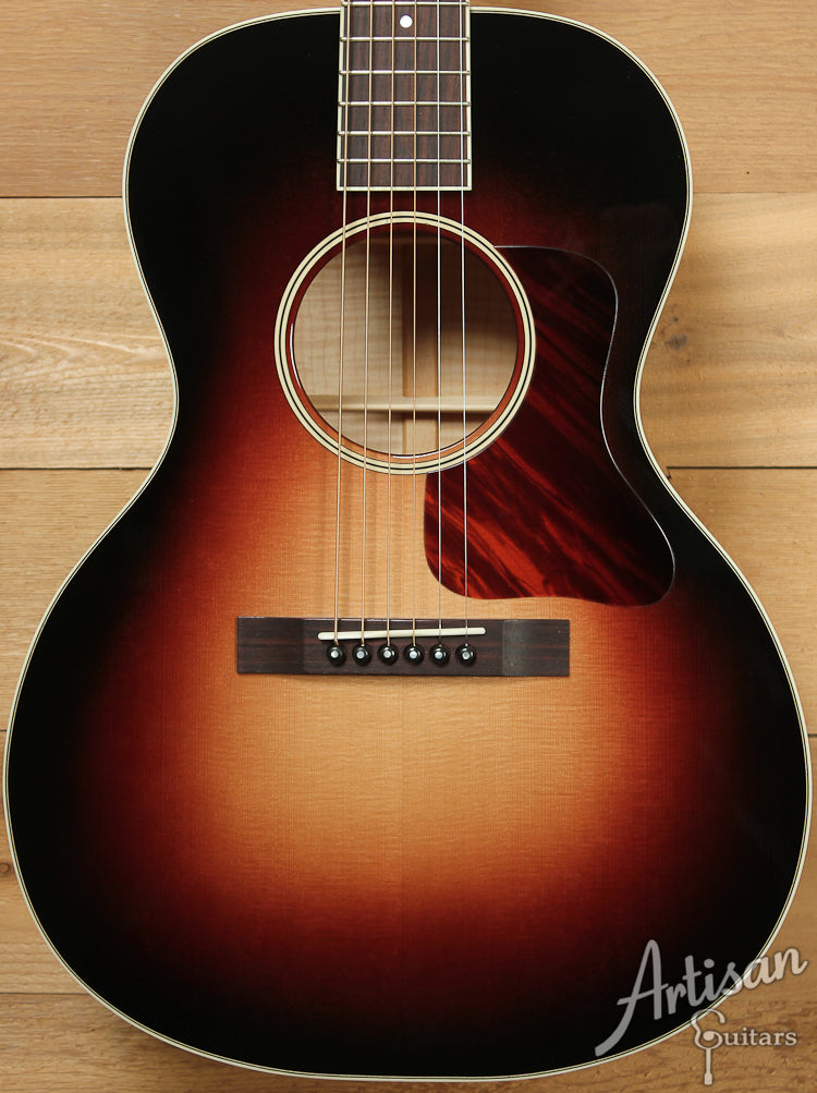 Huss and Dalton Crossroads Deluxe Sitka Spruce and Curly Maple ID-7126