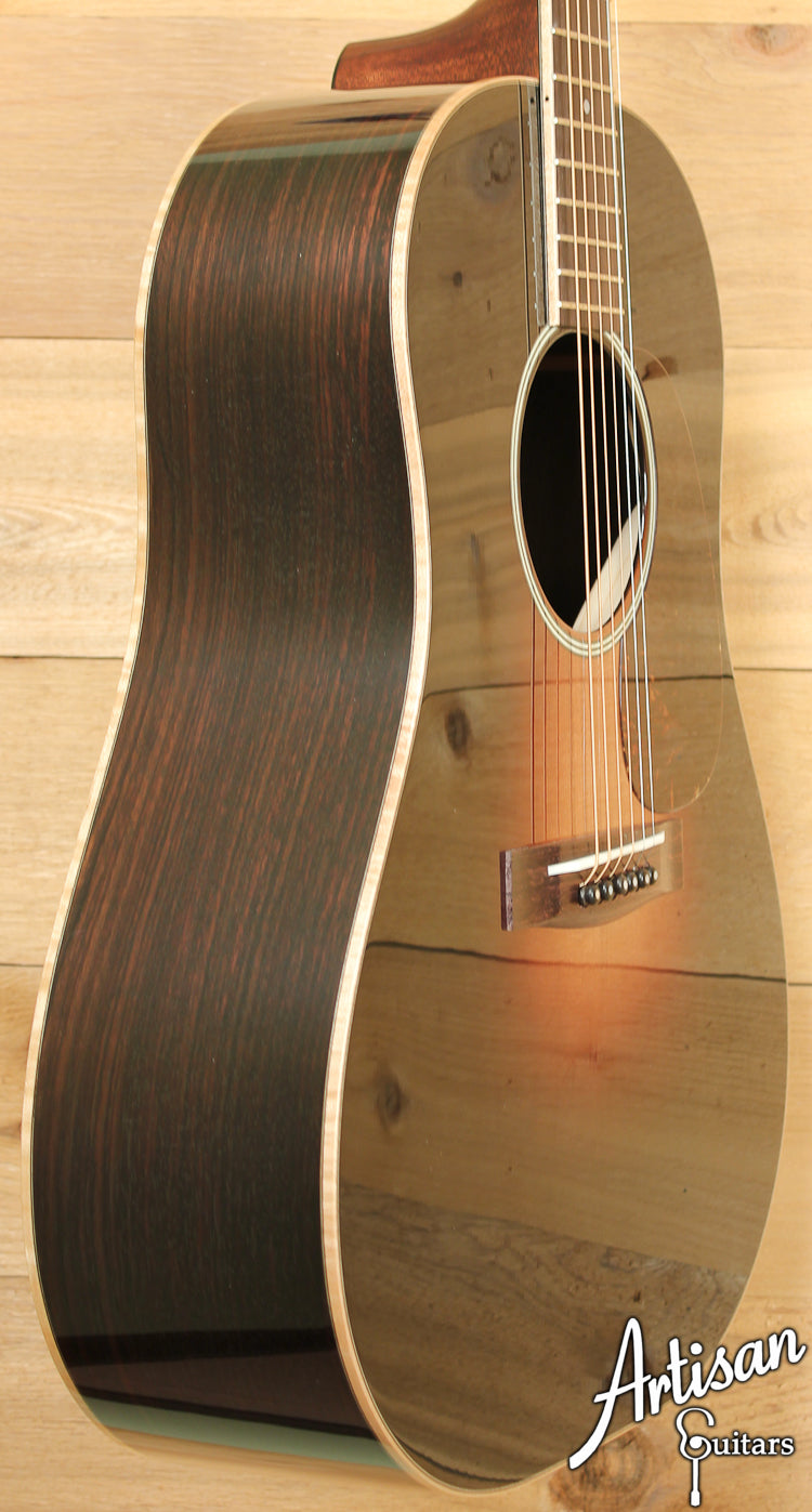 Huss and Dalton DS Custom Adirondack Spruce top with Hot Hide Glue ID-7239 - Artisan Guitars