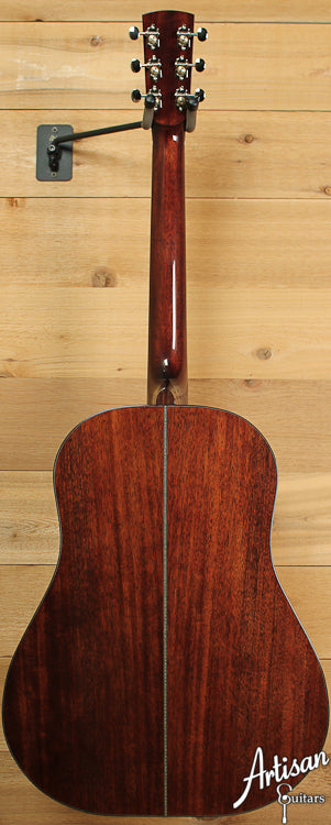 Huss and Dalton DS Custom Red Spruce and Sinker Mahogany ID-6944 - Artisan Guitars