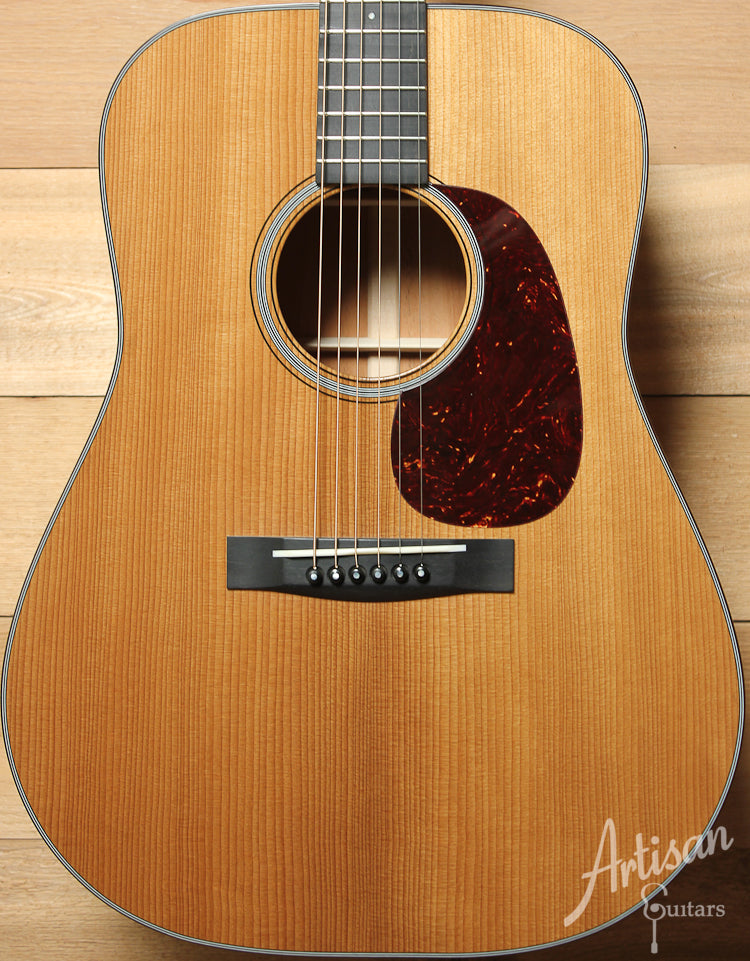 Pre Owned 2013 Huss and Dalton TD M Thermo-Cured Appalachian Red Spruce and Sinker Mahogany with Hot Hide Glue ID-9059 - Artisan Guitars