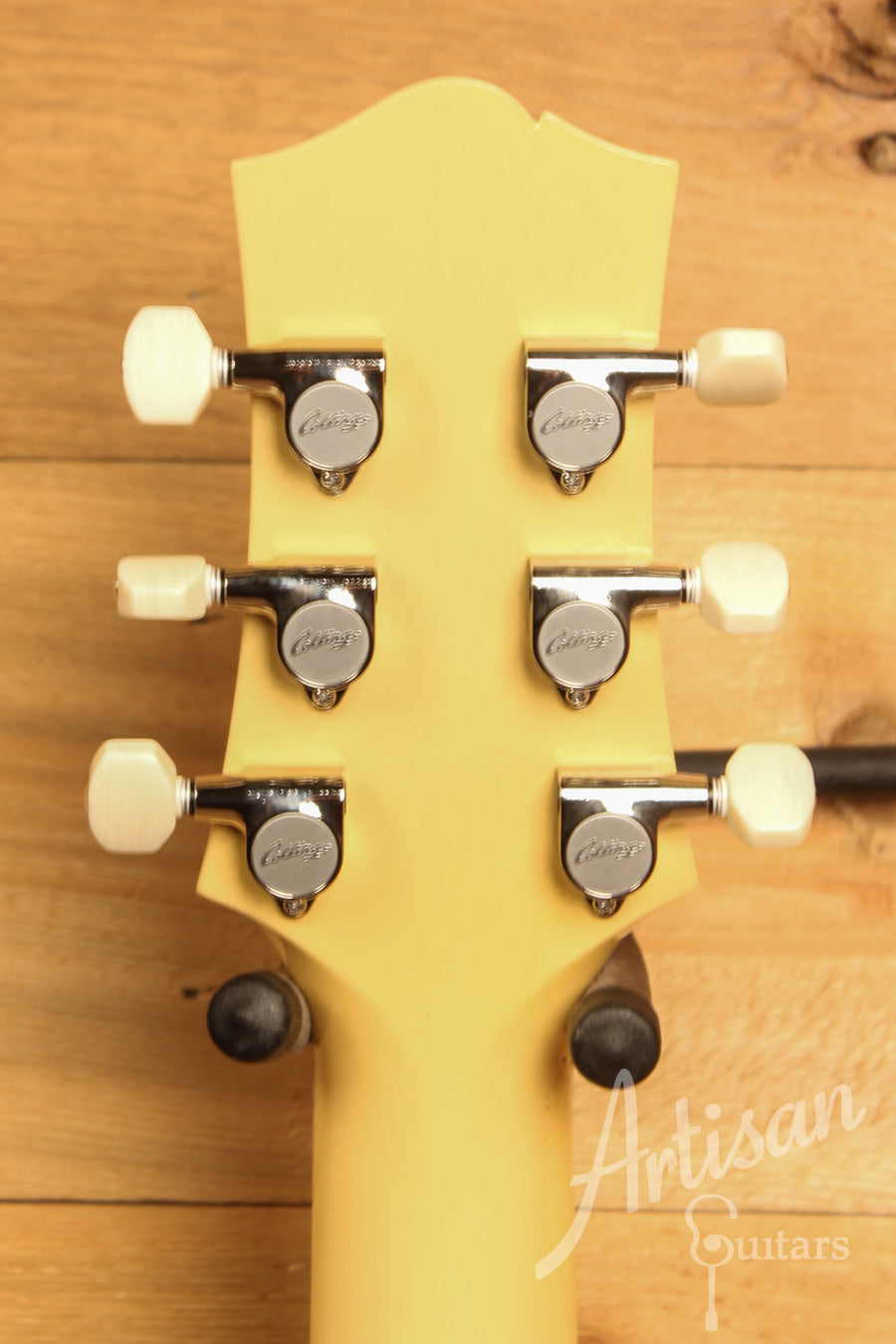 Collings 290TV Yellow with Dual Lollar P90 Pickups ID-11628