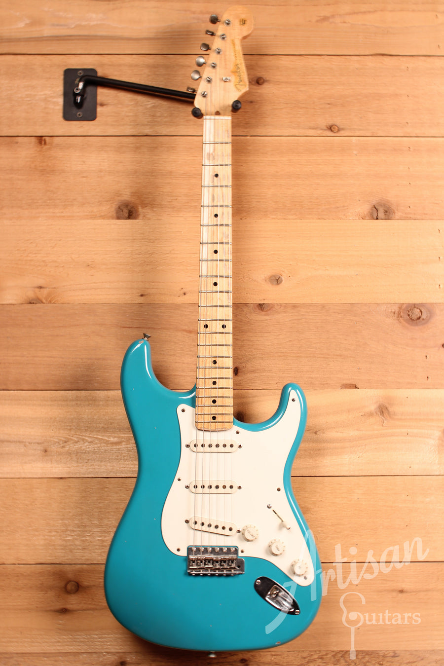 Fender Custom Shop Dave's Guitars 25th Anniversary Stratocaster Relic Taos Turqoise Finish Pre-Owned 2007 ID-11357