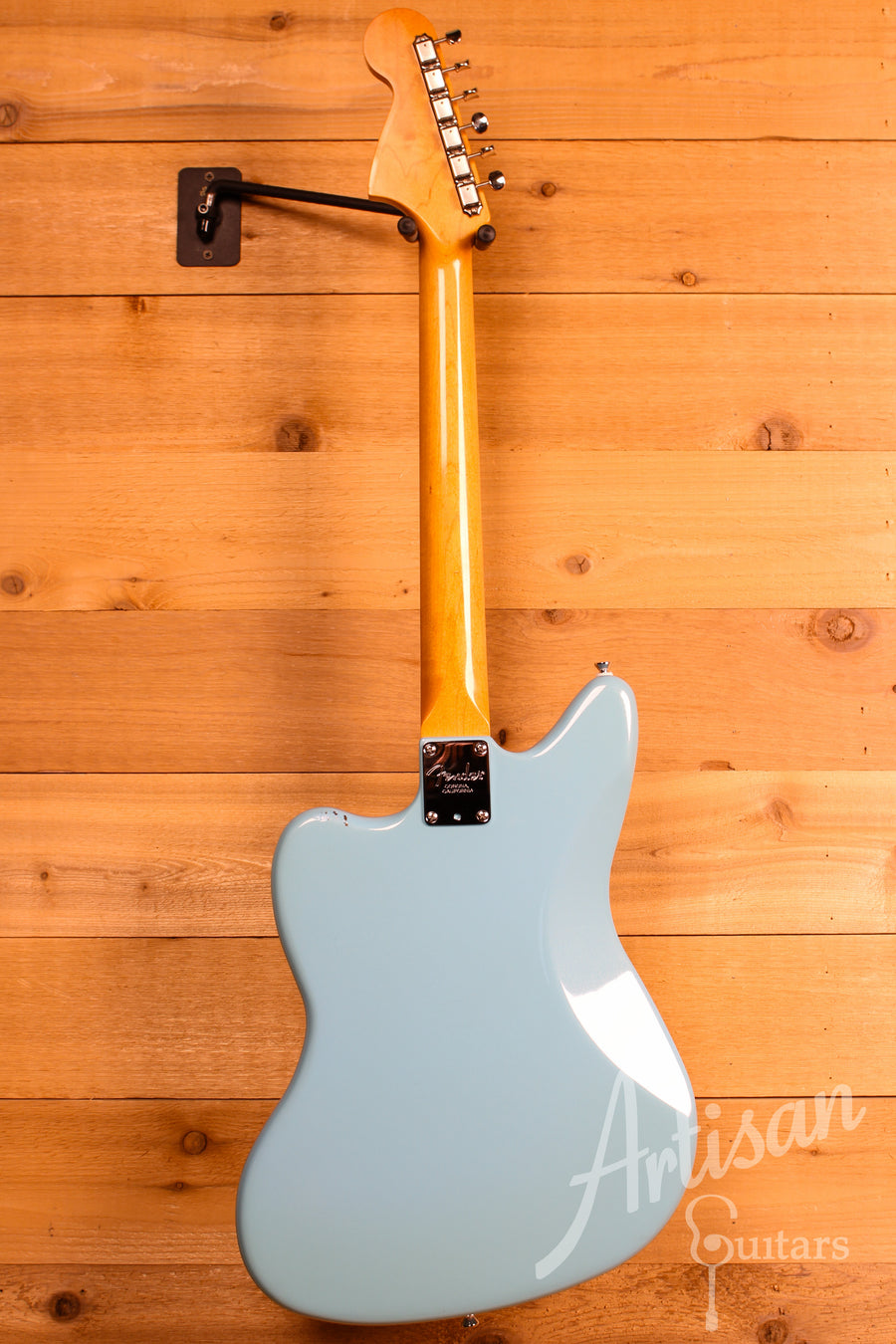 Memphis Guitar Spa Fender Custom Jaguar Blue w/ Cresent Bronze Powder Finish Pre-Owned 2012 - Artisan Guitars