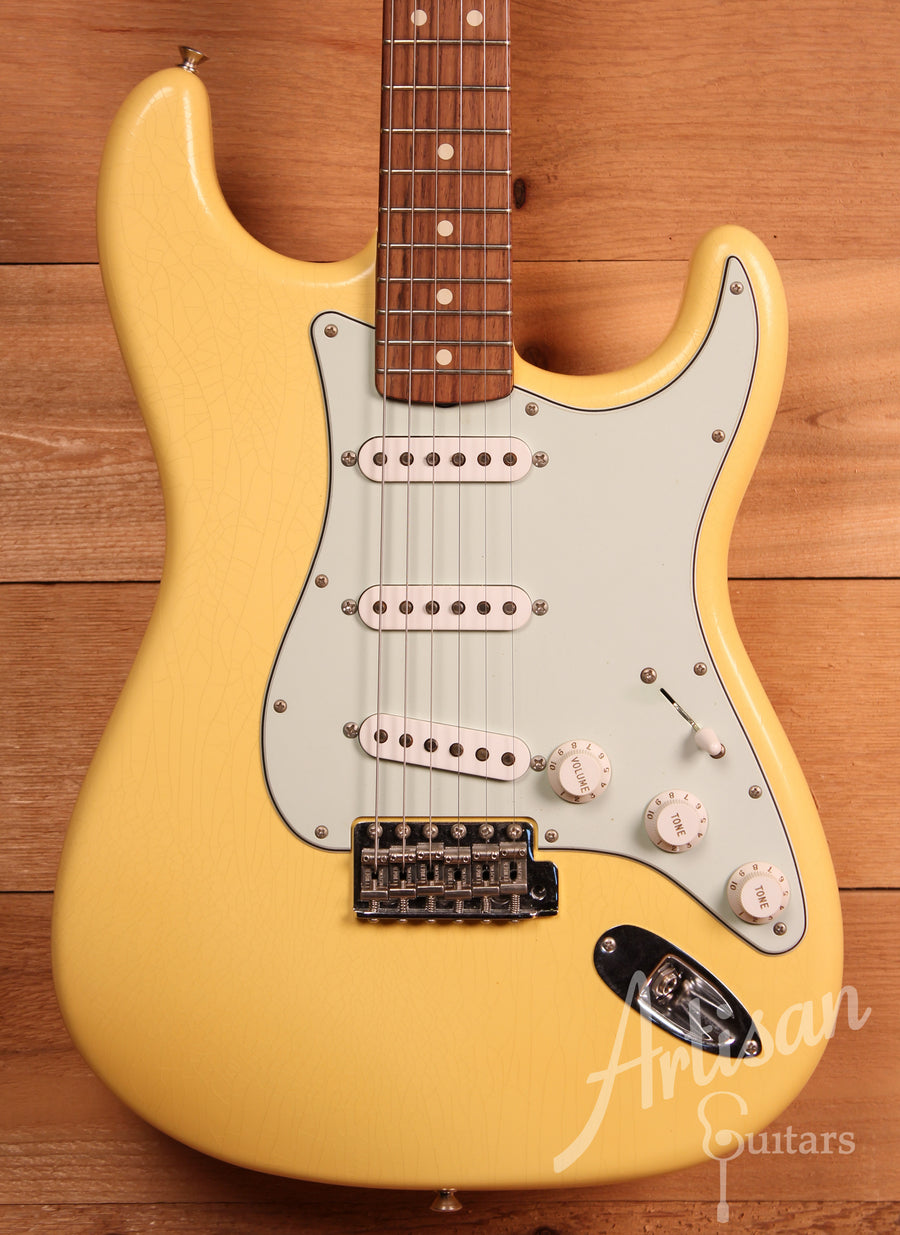 Fender Custom Shop Stratocaster 1964 Closet Classic Vintage White Finish Pre-Owned 2014 ID-11358 - Artisan Guitars