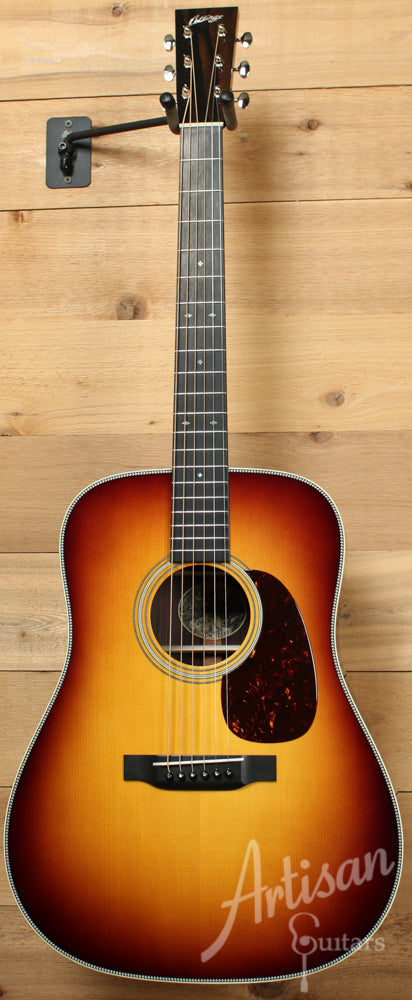Collings D2H G VN SB German Spruce and Indian Rosewood with Sunburst ID-8844 - Artisan Guitars