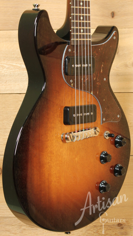 Collings 290DC Double Cutaway Tobacco Sunburst with Wraparound Bridge ID-9357 - Artisan Guitars