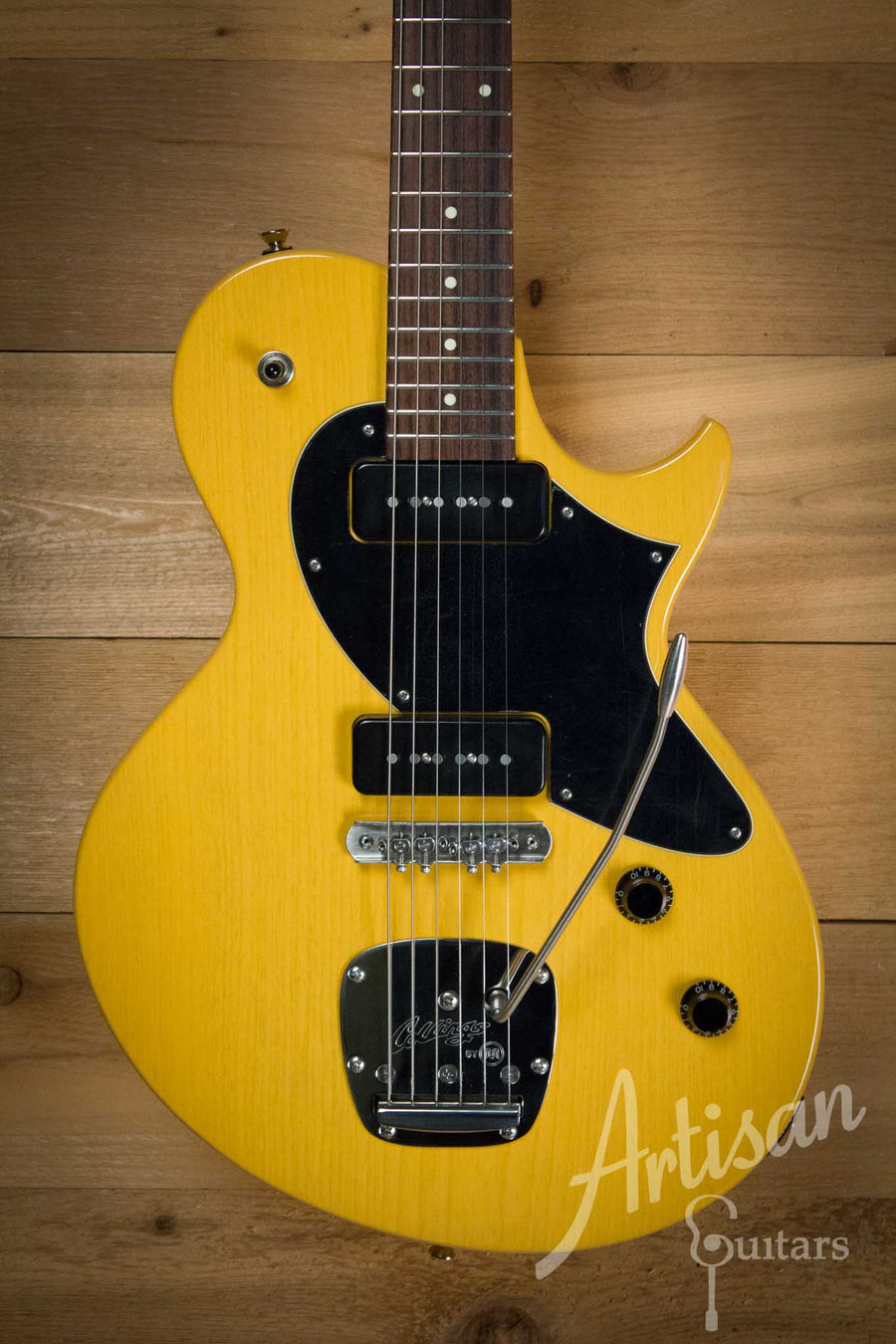 Collings 360 LT M Ash Guitar Butterscotch Blonde Finish with Mastery Bridge ID-10254 - Artisan Guitars