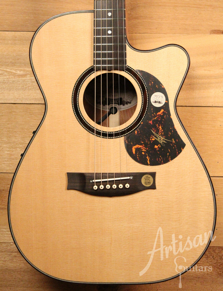 Maton 70th Anniversary 808 Cutaway Sitka Spruce and Blackwood ID-11354 - Artisan Guitars