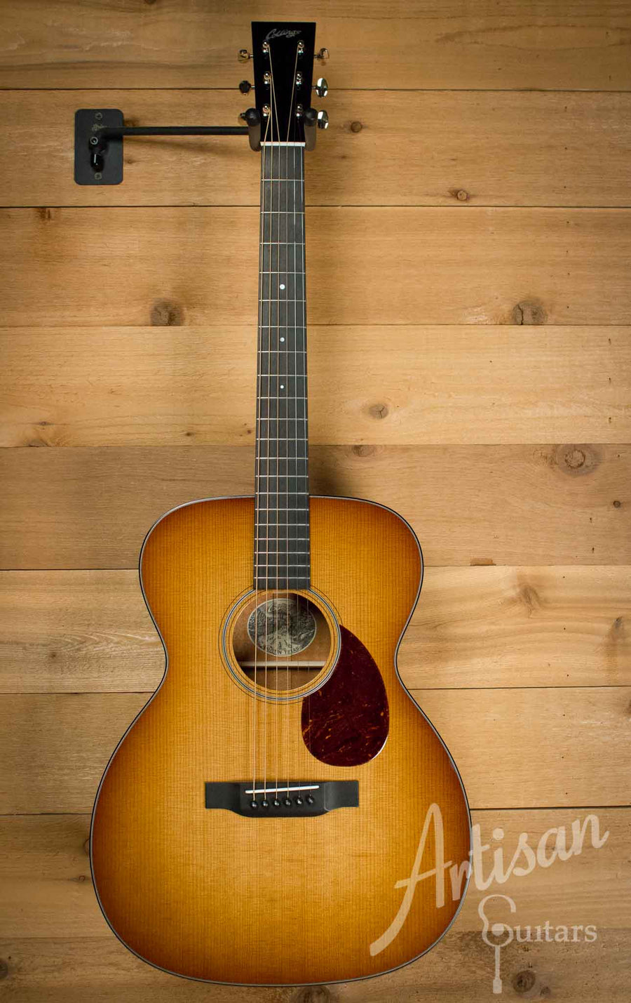 Collings OM1 Baked Sitka Spruce and Mahogany Western Shaded Top ID-10323