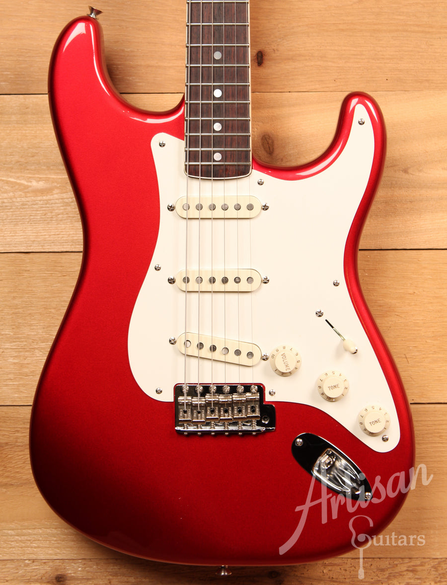 Fender Eric Johnson Signature Stratocaster Candy Apple Red Finish with Rosewood Neck Pre-Owned 2006 ID-11655