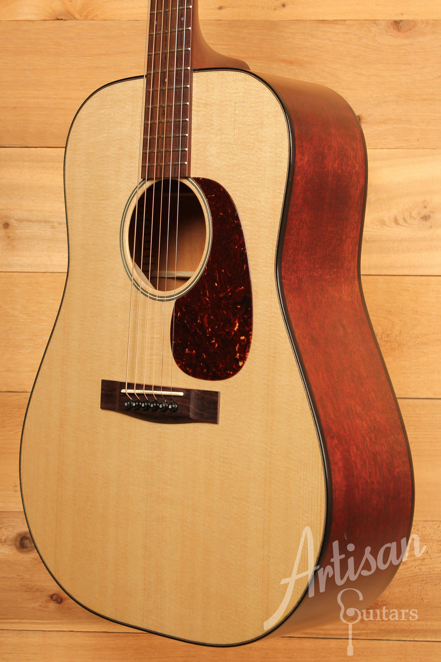 Huss and Dalton Road Edition Dreadnought Sitka Spruce and Mahogany ID-11386 - Artisan Guitars