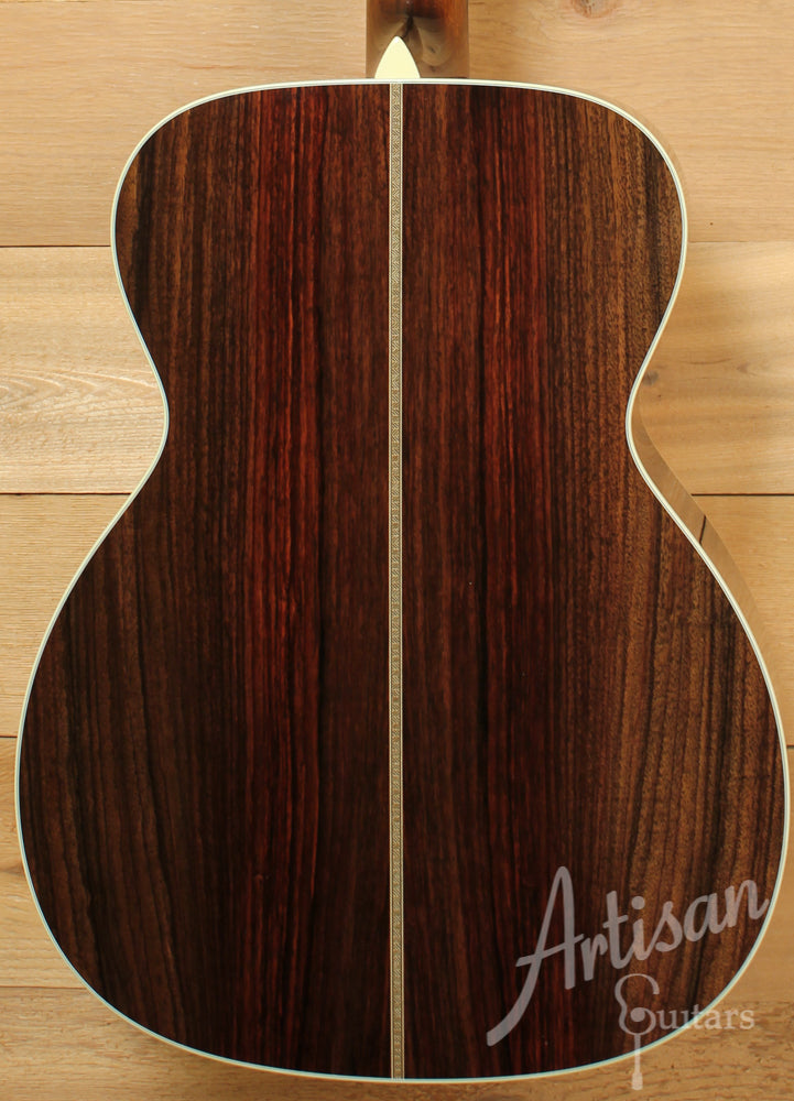 Pre Owned 2012 Collings OM2HG German Spruce and Indian Rosewood Deep Body ID-6473