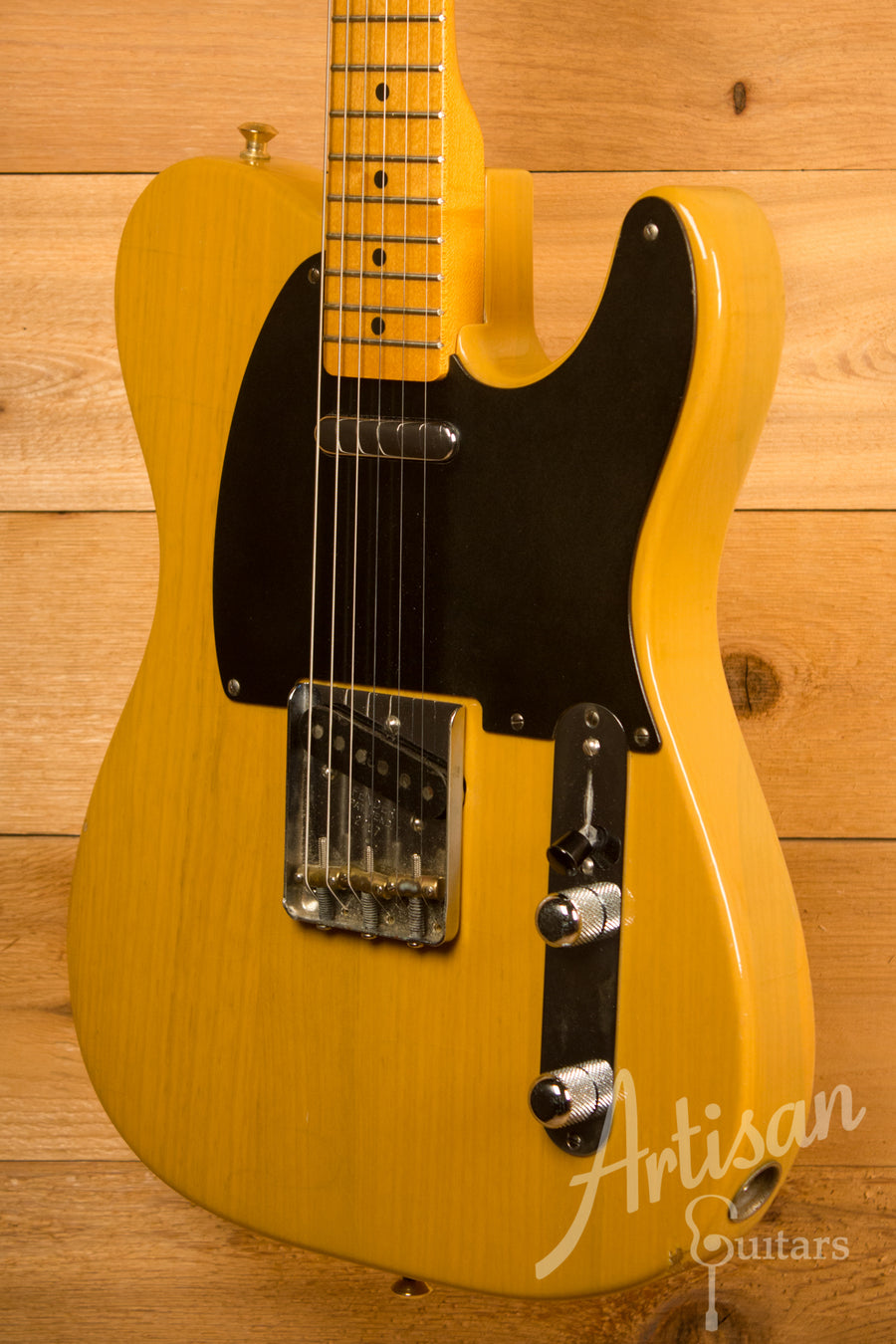 Fender Fullerton Era American Vintage 1952 RI Telecaster Butterscotch Blonde Pre-Owned 1982 ID-11626