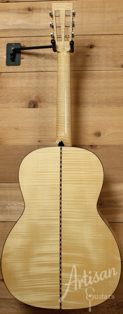 Pre Owned 2013 Collings 0001 Maple Sitka Spruce and Flamed Maple ID-7331 - Artisan Guitars